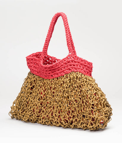 Tita Bag (Red and Gold)