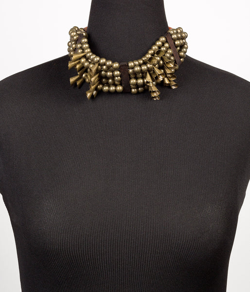 Choker Brass Necklace