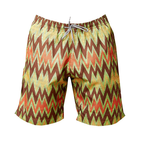 Ali Bolga Zigzag Men's Swim Trunk (pre-order)