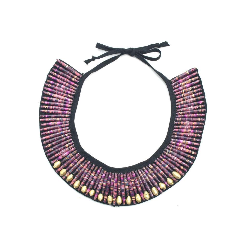 Rolled Collar Necklace - Inspired Luxe
