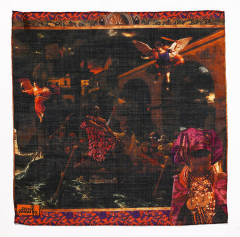 Pocket Square - Escape from Cape Coast Castle