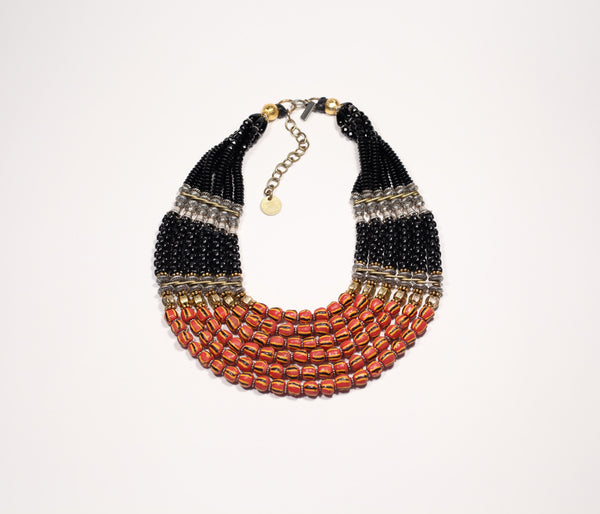 Red & Black Collar #3C - Inspired Luxe