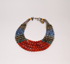 Carnelian Collar #6 - Forest Series - Inspired Luxe