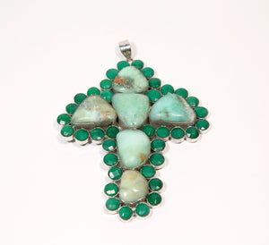 Chrysoprase Stone Pendant - Inspired Luxe