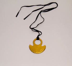 Gold Brushed Pendant - Inspired Luxe