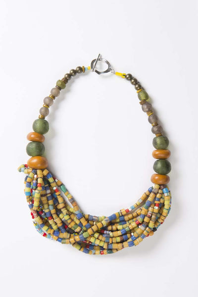 Choker - One Africa (yellow)