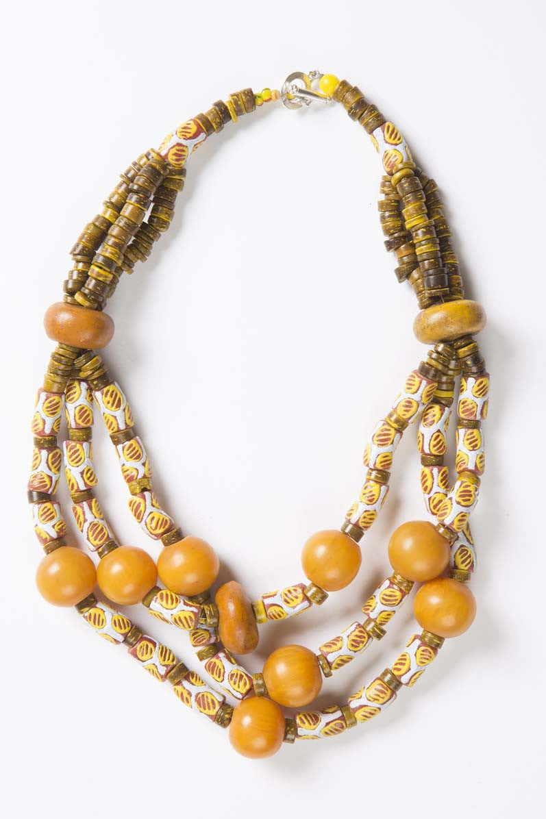 Yellow Multi Twist - Inspired Luxe