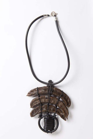 Organic Collection - Carob Pod Necklace