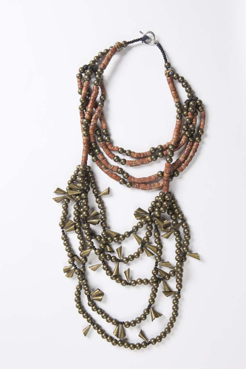 Chuma Necklace - Runway Collection - Inspired Luxe