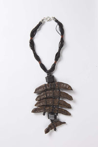 Organic Collection - Carob Pod Necklace - Inspired Luxe