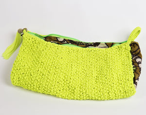 Emem Clutch (Lemon) - Inspired Luxe