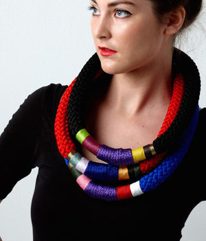Thick Ndebele Necklace - Inspired Luxe