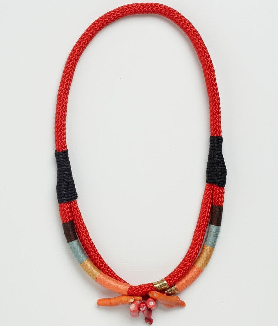 Coral Double Ndebele - Inspired Luxe