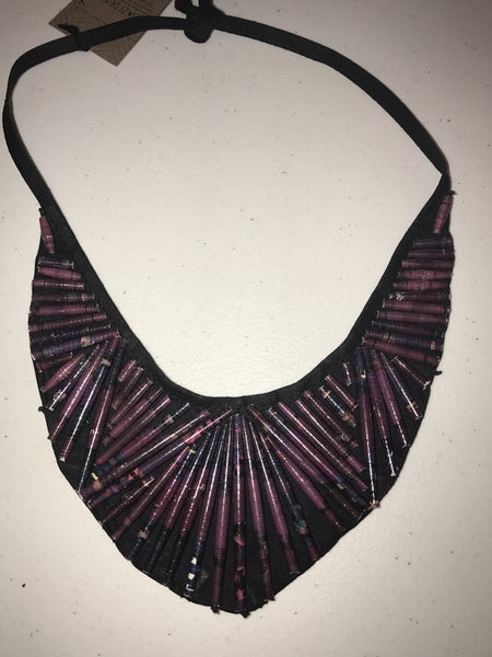 Beaded Neckpiece Small