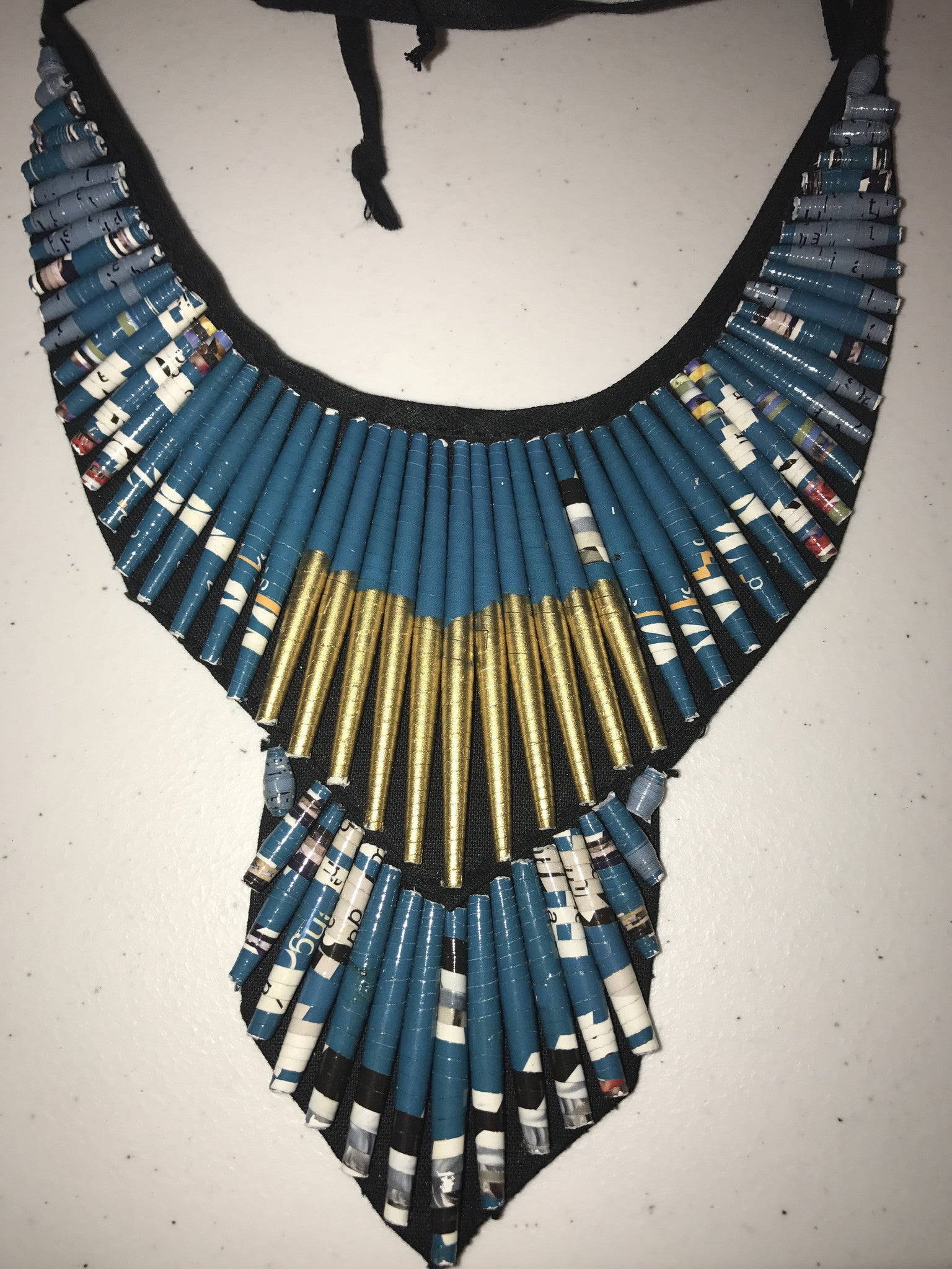 Rolled Pyramid Necklace - Inspired Luxe