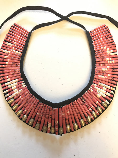 Rolled Collar Necklace