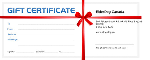 Gift Certificate/Donation Card