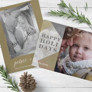 Lucky Onion Custom Holiday Cards for couples and familees in Denver Colorado
