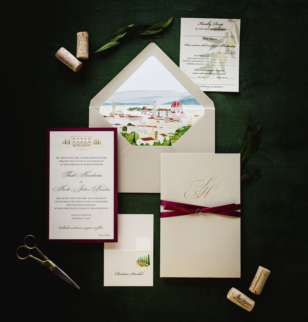 Lucky Onion Wedding Invitations and Stationery Guide
