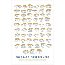 Print: Colorado Fourteeners