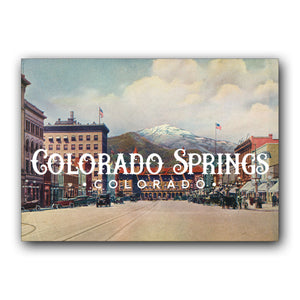 Postcard: Downtown Colorado Springs