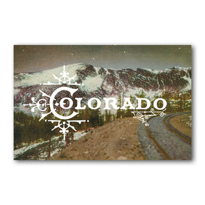 Print: Colorado Mountains Night