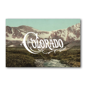 Print: Colorado Mountains Day
