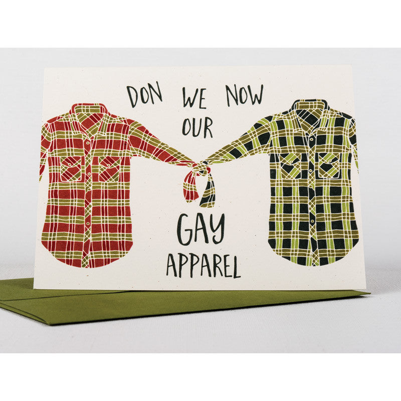 Greeting Card: Don We Now Our Gay Apparel
