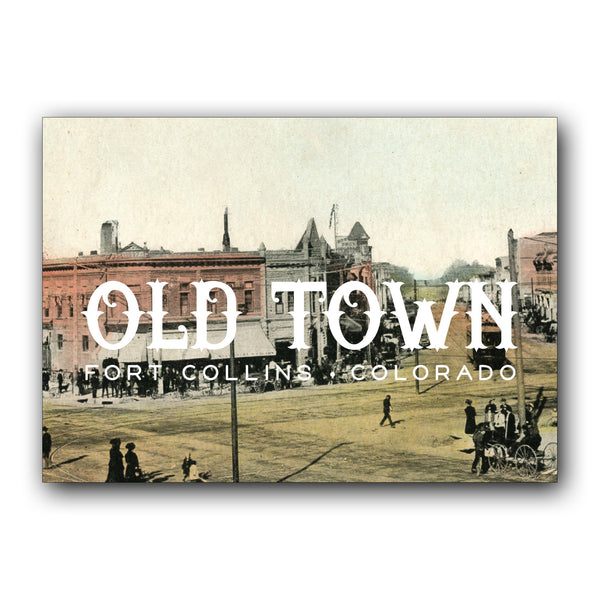 Postcard: Old Town FOCO