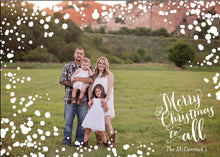 Holiday Photo Card: Bubbly Wishes