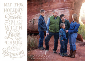 Holiday Photo Card: Full Season