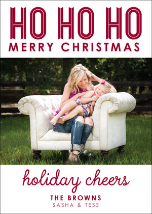 Holiday Photo Card: Simply Said