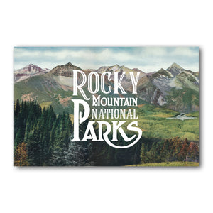 Print: Rocky Mountain National Parks