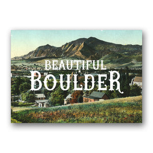 Postcard: Beautiful Boulder