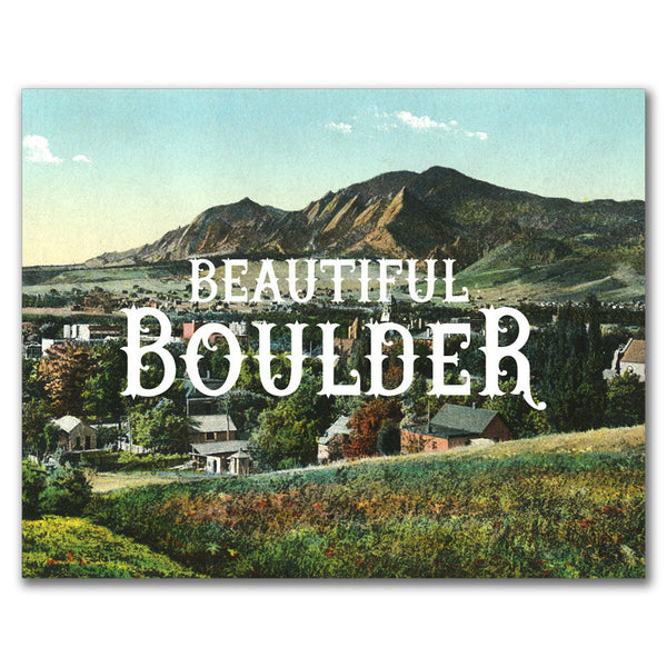 Print: Beautiful Boulder