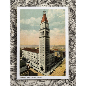Postcard: Daniels & Fisher Tower
