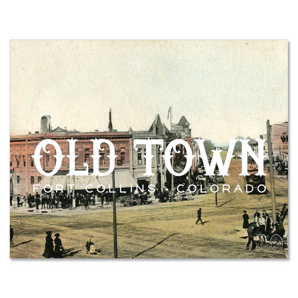 Print: Old Town Fort Collins