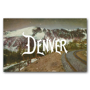 Print: Moffat Road Denver