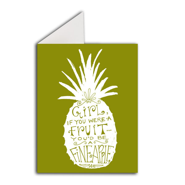 Greeting Card: Fineapple