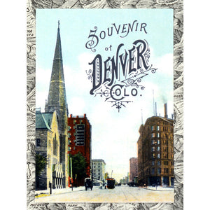 Postcard: Souvenir of Denver