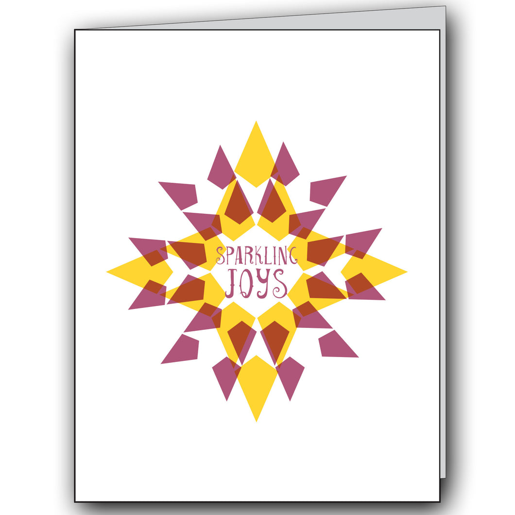 Greeting Card: Sparkling Joys