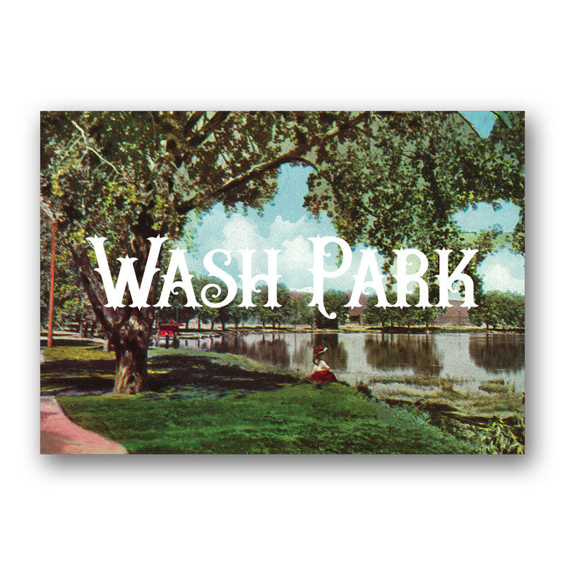 Postcard: Washington Park