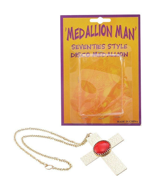 Men's 1970's Medallion/Cross