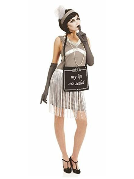 Silent Film Flappr Costume