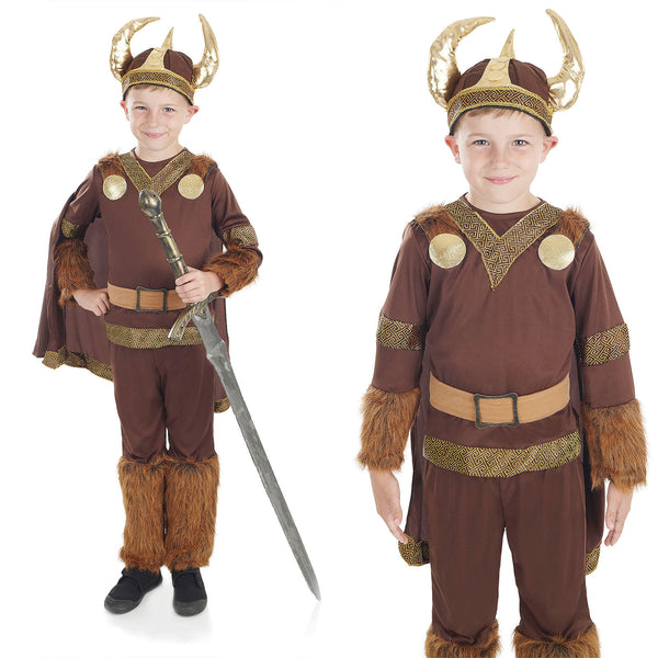 Deluxe Viking Boy Costume