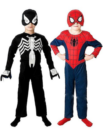 2 In 1 Spiderman Costume