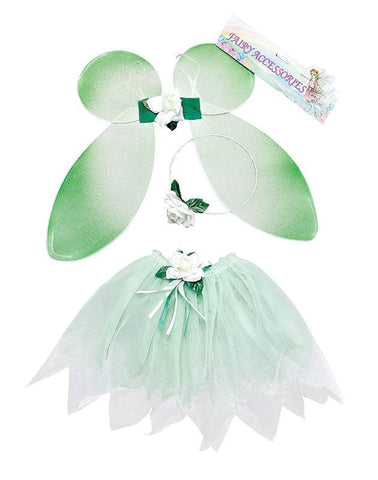 GIRL'S FAIRY WINGS AND TUTU SET