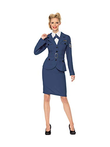 WW2 Air Force Female Captain Costume