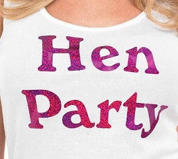 Hen Party Iron-on Transfer