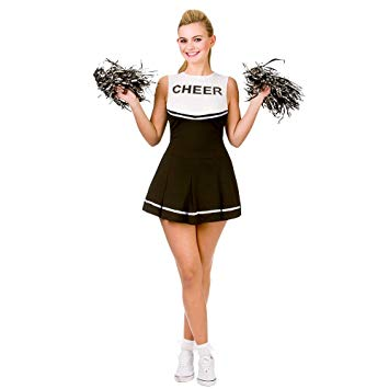 Black High School Cheerleader Costume